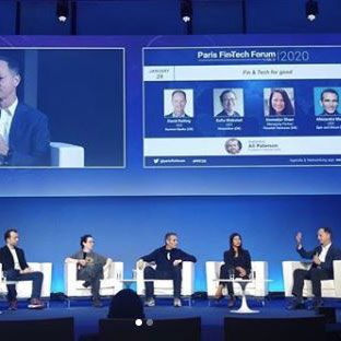 "David Reiling have the opportunity to travel to Europe the last few days for the 2020 #ParisFintechForum and even be on a panel covering the topic of ""Fin & Tech For Good"" with other leaders from around the world."